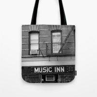 'Music Inn' New York Tote Bag