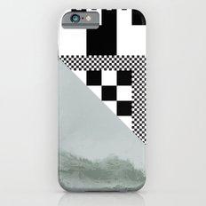 waves/grid #4 iPhone 6s Slim Case