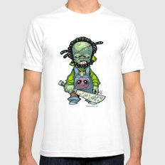 Z gang - Mr. Octopux - Villains of G universe White SMALL Mens Fitted Tee
