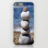 iPhone & iPod Case featuring pyramid of stones by Lo Coco Agostino