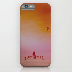 LANDSCAPE-Boy with kite and dog Slim Case iPhone 6s