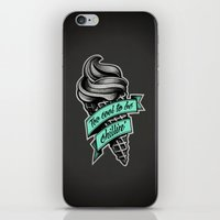Too Cool to Be Chillin' iPhone & iPod Skin