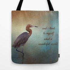Wonderful World Tote Bag