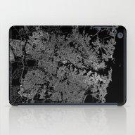 Sydney Map Australia iPad Case