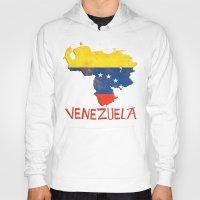 Venezuela Vintage Map Hoody