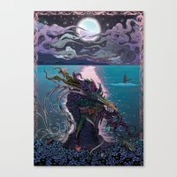 Midnight Meeting Canvas Print