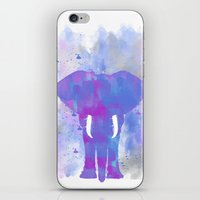 Elephant In Spring Color… iPhone & iPod Skin