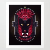 Fabled Stout Art Print