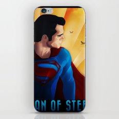 Man of Steel iPhone & iPod Skin