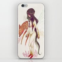 Naked Fingers iPhone & iPod Skin