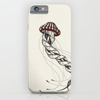 iPhone & iPod Case featuring Jellyfish // Animal Poker by Andreas Preis