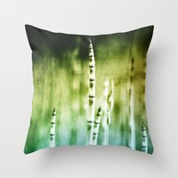 Painting Texture Throw Pillow