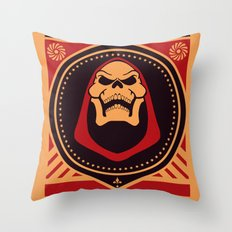 =SKELETOR= Throw Pillow
