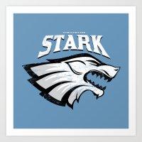 Stark - Game Of Thrones Art Print