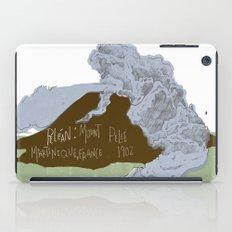 Pelean Volcanic Eruption iPad Case
