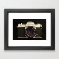 Pentax K-1000 Framed Art Print