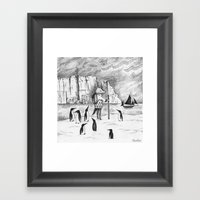 Antarctic Explorer Framed Art Print