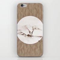 Scots Pine Paper Bag Sepia iPhone & iPod Skin