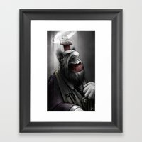 Pope Of Surgery Minor Framed Art Print