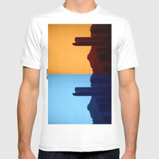 Denver, Colorado SMALL White Mens Fitted Tee