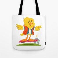 Hover Bird Tote Bag