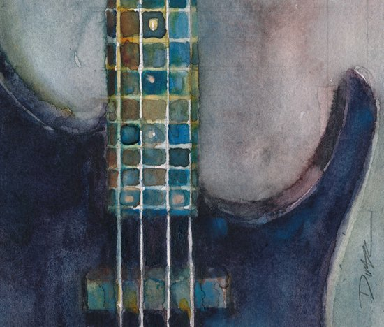 Ed's Bass Art Print