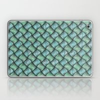Patchwork Moire Silk Laptop & iPad Skin