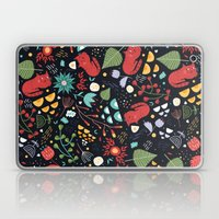 cats and flowers Laptop & iPad Skin