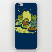 Things That Go Bump In T… iPhone & iPod Skin