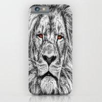 Black Lion iPhone 6 Slim Case