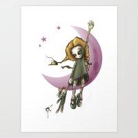 Flying Away Art Print