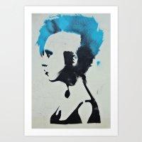 You Were Punked Art Print
