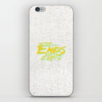 Ends iPhone & iPod Skin