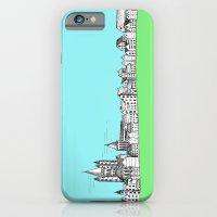 sketchy town iPhone 6 Slim Case