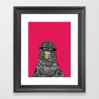 Dirty Bird  Framed Art Print