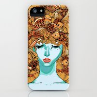iPhone Cases featuring Head up, love by Huebucket