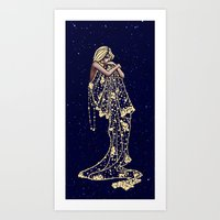Mood Indigo Art Print