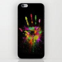 Artist Hand iPhone & iPod Skin