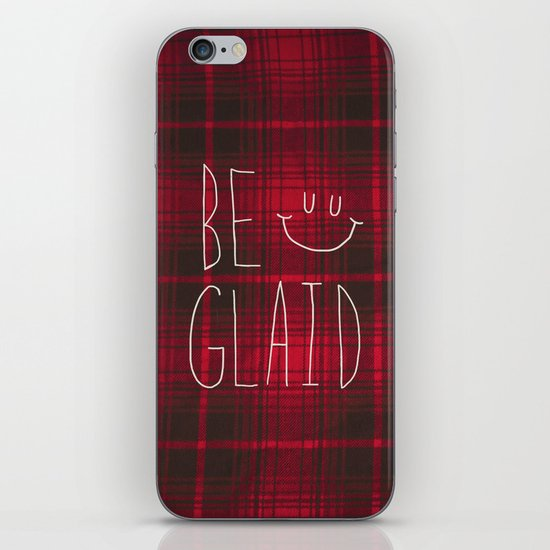 So Plaid iPhone & iPod Skin