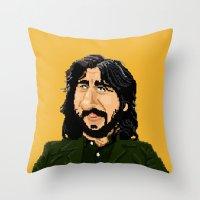 Pixel Starr Throw Pillow