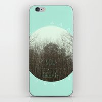 NOW BREATH (WINTER) iPhone & iPod Skin