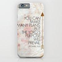 Purpose- Proverbs 19:21 iPhone 6 Slim Case