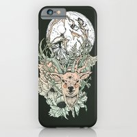 iPhone & iPod Case featuring D E E R M O O N by Cassidy Rae Limbach