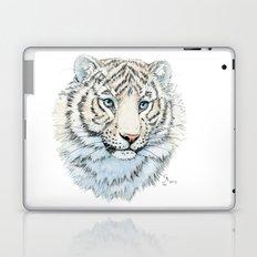 Young White Tiger  Laptop & iPad Skin