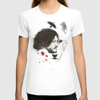 snow T-shirts featuring Snow by The Art of Danny Haas