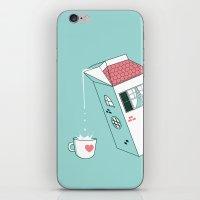 Housepour iPhone & iPod Skin