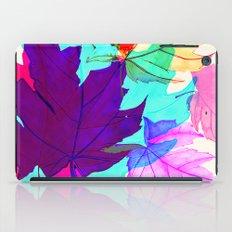 Maple Leaves Falling iPad Case