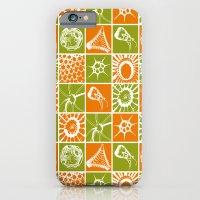 Microscopic Life Silloue… iPhone 6 Slim Case