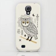Hypno Owl Galaxy S4 Slim Case