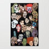 Halloween Gumbo Canvas Print